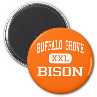 Buffalo Grove - Bison - High - Buffalo Grove Magnets