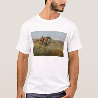 Buffalo Hunt, 1891 (oil on canvas) T-Shirt