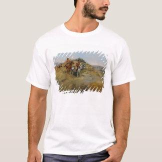 Buffalo Hunt, 1891 (oil on canvas) T-Shirt