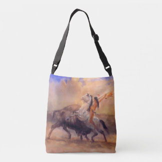 Buffalo Hunter Native American Cross Body Bag