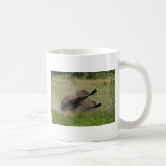 Buffalo In Field Coffee Mug