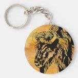Buffalo Key Chain