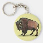 Buffalo Keychain