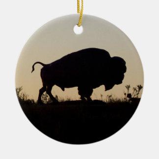 Buffalo Memorial Ornament