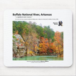 Buffalo National River II - Fall Colors 2009 Mouse Mat