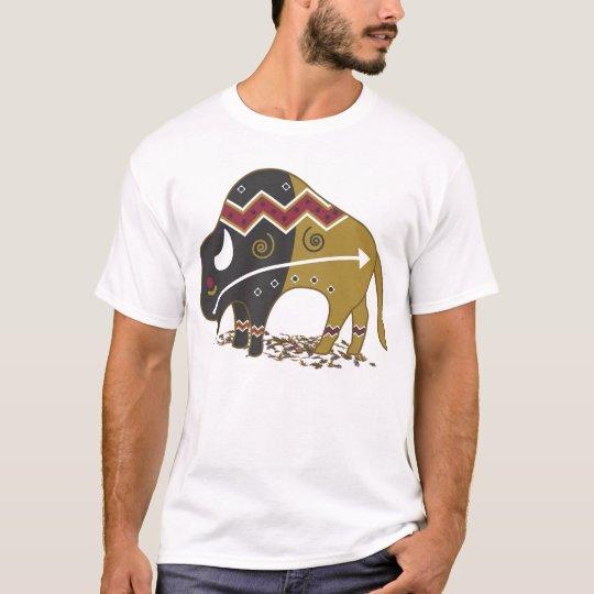 Buffalo Native American T Shirt