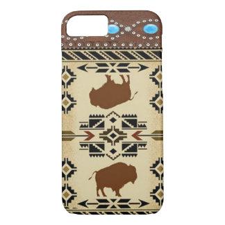 """Buffalo"" Native American Western iPhone 7 case"