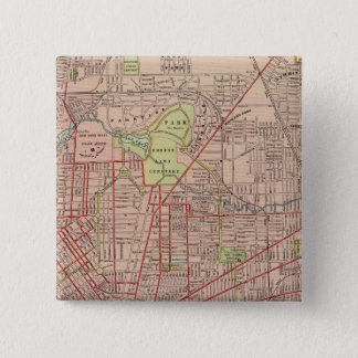 Buffalo, New York 15 Cm Square Badge