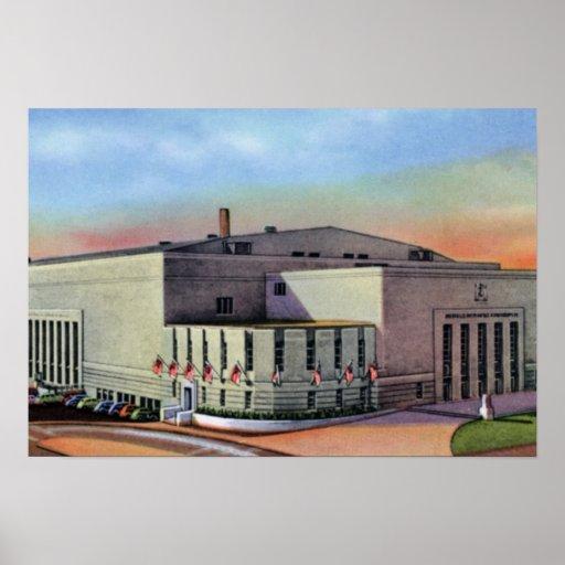 Buffalo New York Auditorium Poster