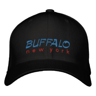 Buffalo New York Embroidered Embroidered Baseball Caps