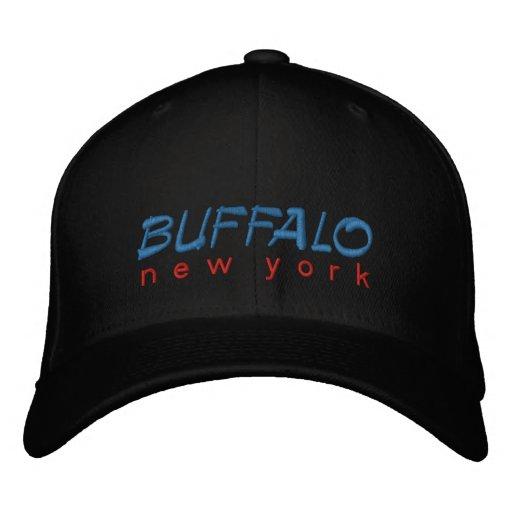 Buffalo New York Embroidered Embroidered Baseball Caps