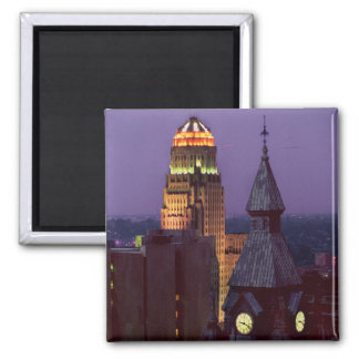 Buffalo New York jjhelene 2 Inch Square Magnet