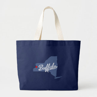 Buffalo New York NY Shirt Large Tote Bag