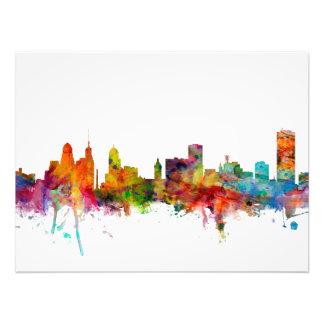 Buffalo New York Skyline Art Photo