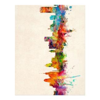 Buffalo New York Skyline Cityscape Full Colour Flyer