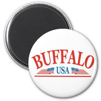 Buffalo New York USA Magnet