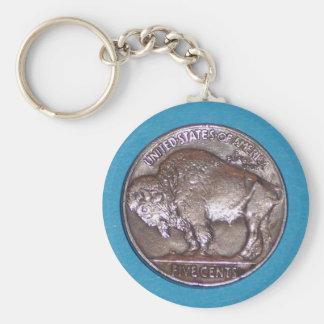 Buffalo Nickel 2 Key Ring