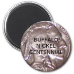Buffalo Nickel Centennial Magnets