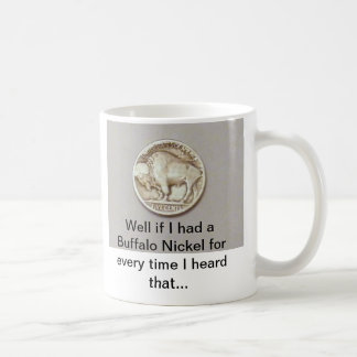 Buffalo Nickel Mug