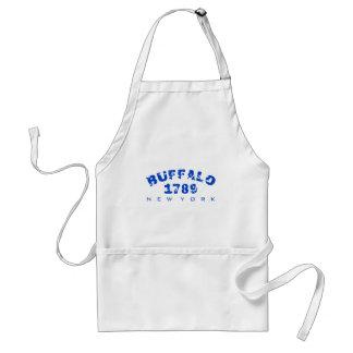 Buffalo, NY - 1789 Adult Apron