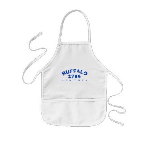 Buffalo, NY - 1789 Aprons