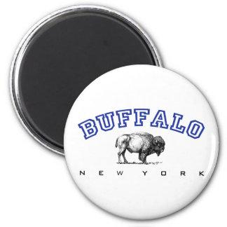 Buffalo NY 6 Cm Round Magnet