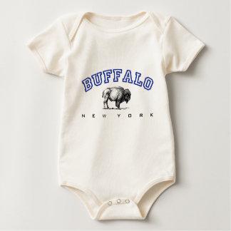 Buffalo, NY - Bison Baby Bodysuit
