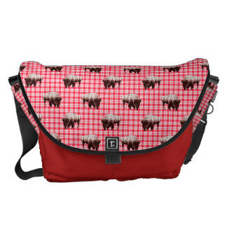 Buffalo Picnic Party Courier Bag