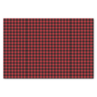 Buffalo Plaid Lumberjack Tissue Paper