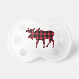 Buffalo Plaid Moose, Lumberjack Style, Red Black Dummy