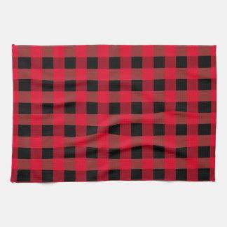 Buffalo plaid tea towel