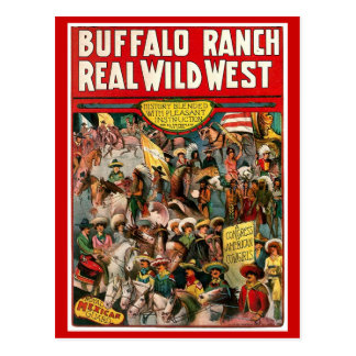 Buffalo Ranch - Postcard