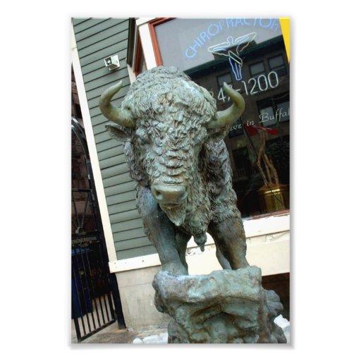Buffalo Sculpture Outside Buffalo NY Business Photo Art