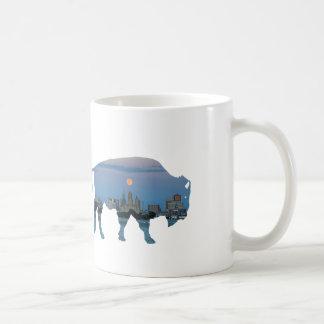 Buffalo skyline Mug