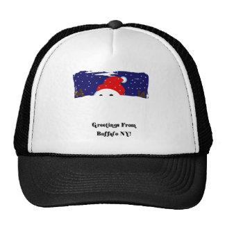 Buffalo Snowman Trucker Hat
