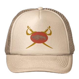 Buffalo Soldier Badge Trucker Hat