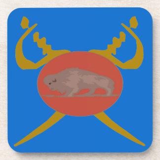 Buffalo Soldier Badge Drink Coaster