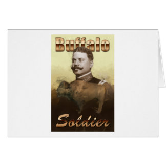 Buffalo Soldier Greeting Card
