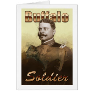 Buffalo Soldier Card