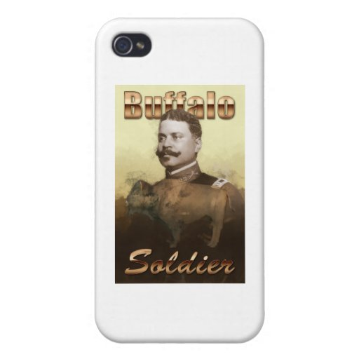 Buffalo Soldier iPhone 4 Cases