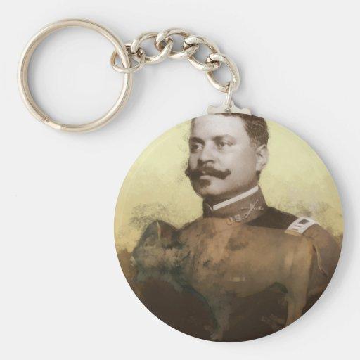 Buffalo Soldier Keychain