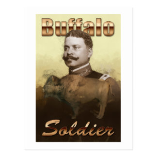 Buffalo Soldier Postcard