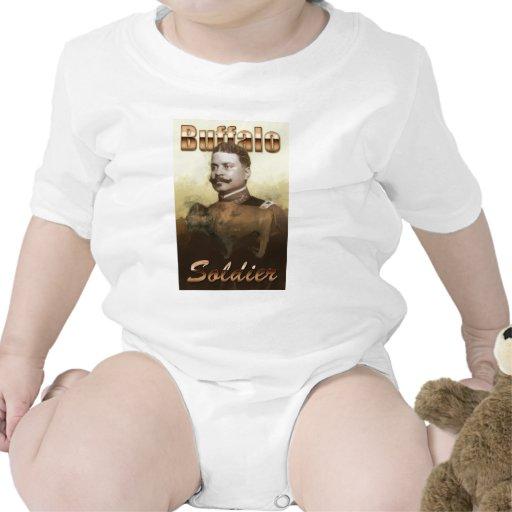 Buffalo Soldier Baby Bodysuits