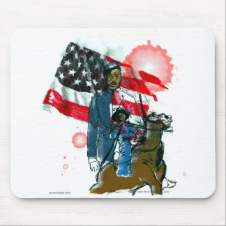Buffalo Soldiers 08 Mouse Mat