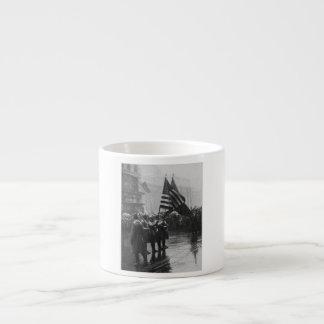 Buffalo Soldiers 367th Infantry African American Espresso Mug