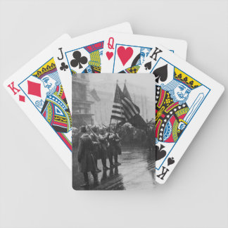 Buffalo Soldiers 367th Infantry African American Playing Cards