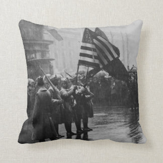 Buffalo Soldiers 367th Infantry African American Throw Cushions