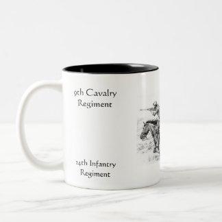 Buffalo Soldiers coffee mug