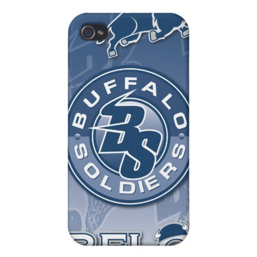 Buffalo Soldiers Lacrosse iPhone Case Cover For iPhone 4