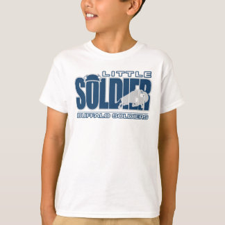 Buffalo Soldiers Lacrosse Kid's T-Shirt Design 1